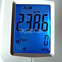 Prístroj na meranie hrúbky povlaku Model 2in1